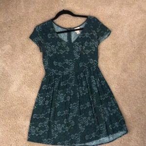 Mossimo Small green dress